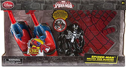 Ultimate Spider-Man Spider-Man Deluxe Web Blaster Playset (Spiderman Villain Costumes)