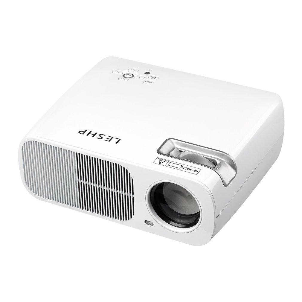 OIQQ Leshp - Proyector de vídeo (2600 LM, Compatible con Home ...