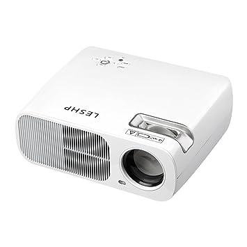 Vídeo proyector 1200 lúmenes Cine en casa Theater Soporte 1080P HD ...