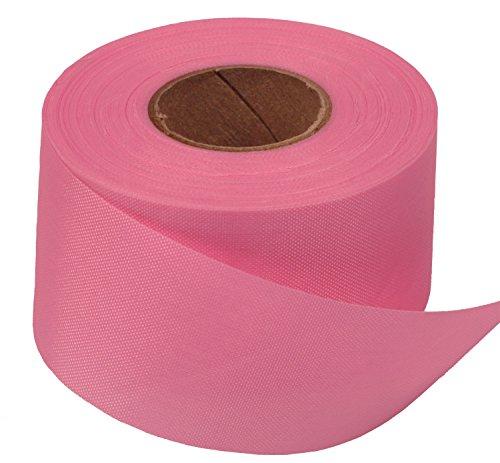 (Windsock Fabric Streamer Material, 1-1/2 Inch Wide x 75 Foot Roll, 200 Denier Nylon, UV Treated, DIY Ribbon- Light Pink)