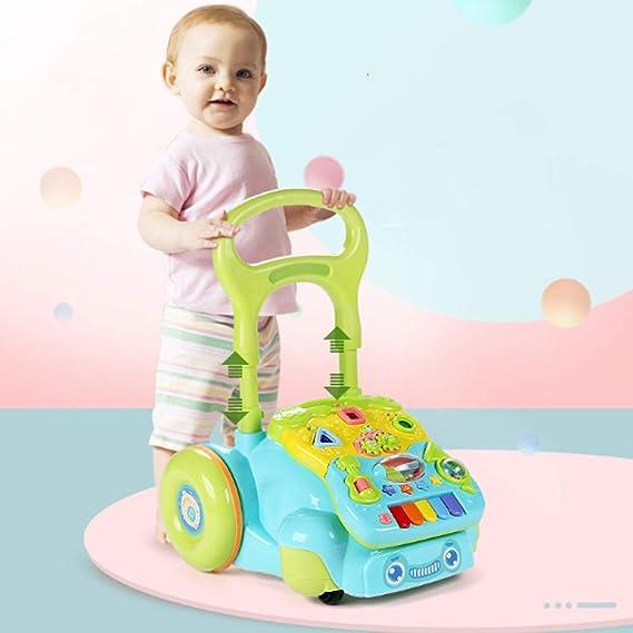 Cochecito de bebé andador de música multifunción andador infantil ...