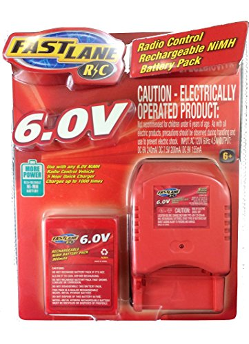 - Fast Lane Radio Control Rechargeable NiMH Battery Pack 6.0V