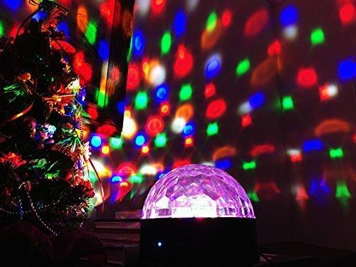 boomer vivi disco dj bluetooth speakers b51 rotating led strobe bulb 6 multi changing color crystal - Strobe Christmas Lights