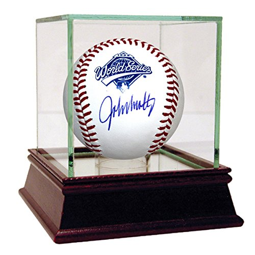 John Smoltz Autographed 1995 World Series Baseball Steiner Coa & Hologram