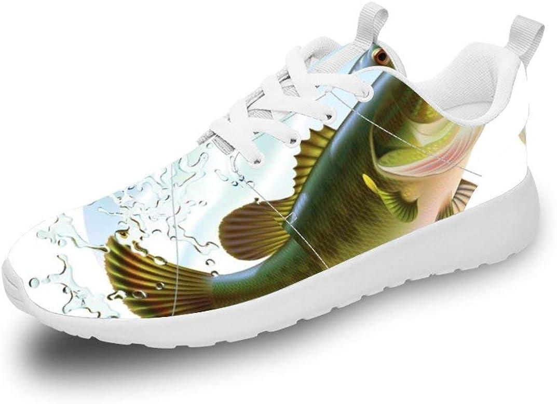 Mesllings Zapatillas de Running Unisex para Colgar Pescado, Ligeras, Deportivas, para Exteriores, Color Multicolor, Talla 38 2/3 EU: Amazon.es: Zapatos y complementos