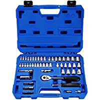 Powerextra Impact Socket Set 65 Pieces 1 /4 Socket Wrench Set