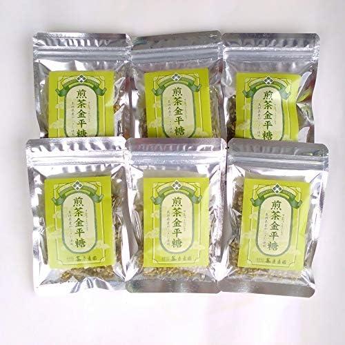 煎茶金平糖40g×6袋セット【出雲 原寿園】島根県産やぶきた使用(せんちゃこんぺいとう)