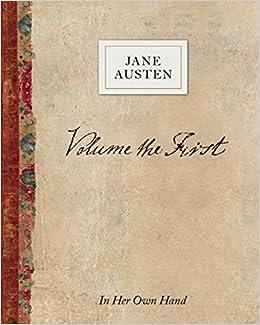 Descargar De Torrent Volume The First By Jane Austen: In Her Own Hand Pagina Epub
