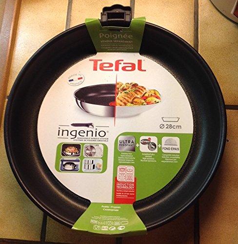Tefal Ingenio Gourmet - Sartén (28 cm): Amazon.es: Hogar