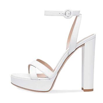 Sandals Large Shoes Heel Size Women's High Platform Banquet eWrExoCQdB