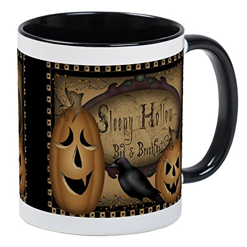 CafePress - Primitive Sleepy Hollow Halloween Coffee Mug - Unique Coffee Mug, Coffee Cup ()