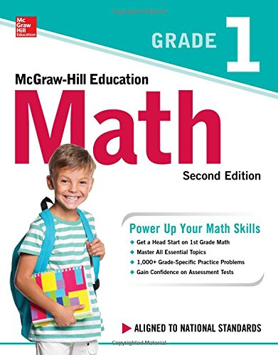 McGraw-Hill Education Math Grade 1, Second Edition