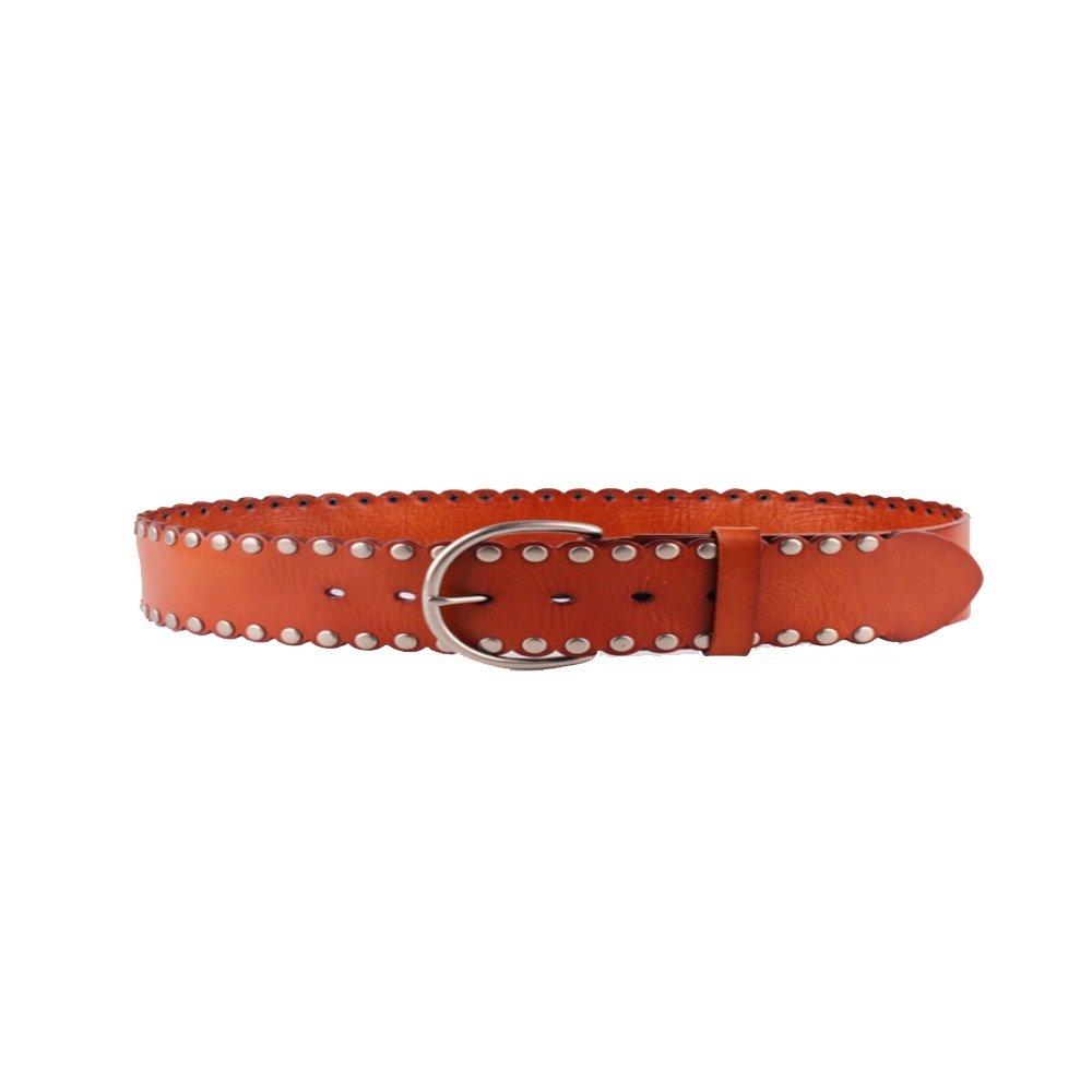 Women Ladies Belt Simplicity Leather Belts Soft Wide Leather Belt for Jeans Shorts Leather Belt with Metal Buckle Belt for Pants Jeans Dresses