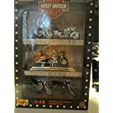 Maisto Harley Davidson 1:18 Scale Die Cast Motorcyles - Set of 5 Bikes - 2000 Edition by Maisto International, Inc.