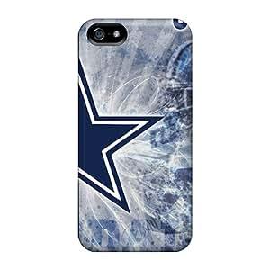 Unique Design Iphone 5/5s Durable Tpu Case Cover Dallas Cowboys