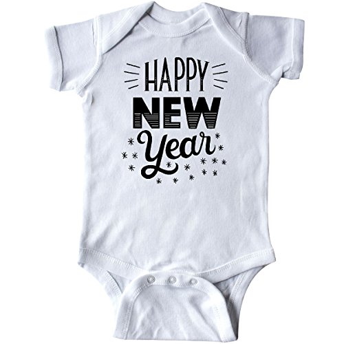 Inktastic Happy New Year In Hand Lettering Infant Creeper Newborn White 2Da85