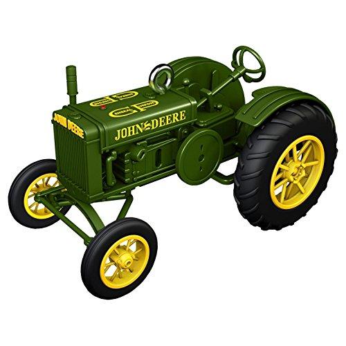 Hallmark Keepsake 2017 1928 John Deere Model GP Tractor Christmas Ornament (Deere Christmas Tree John)