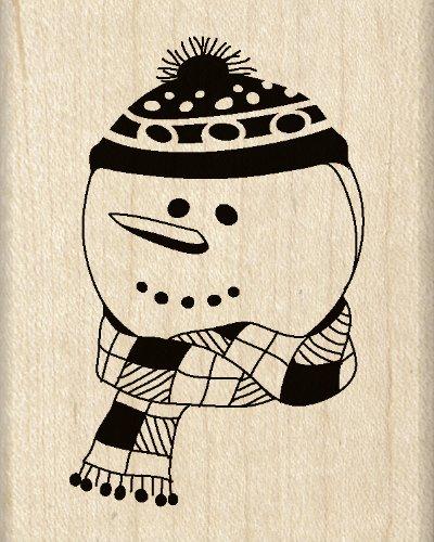 Inkadinkado Winsome Snowman Wood Stamp