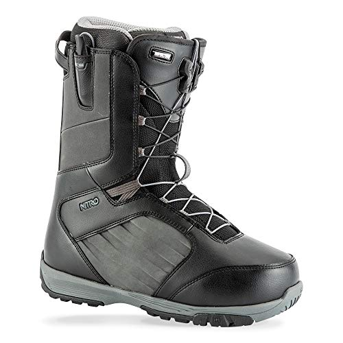 (Nitro Anthem TLS Snowboard Boot (Black/Charcoal, 11) - Men's)