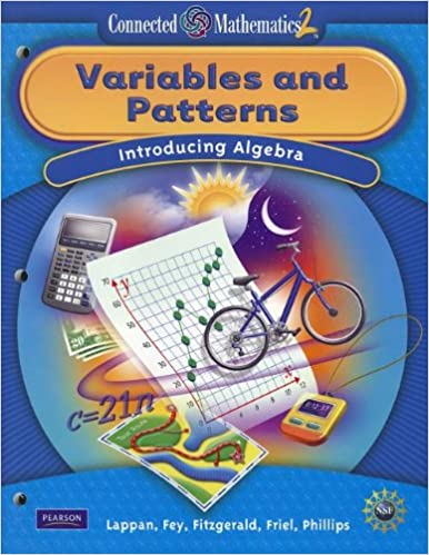 Amazon connected mathematics grade 7 student edition variables connected mathematics grade 7 student edition variables and patterns connected mathematics 2 student edition by prentice hall fandeluxe Gallery