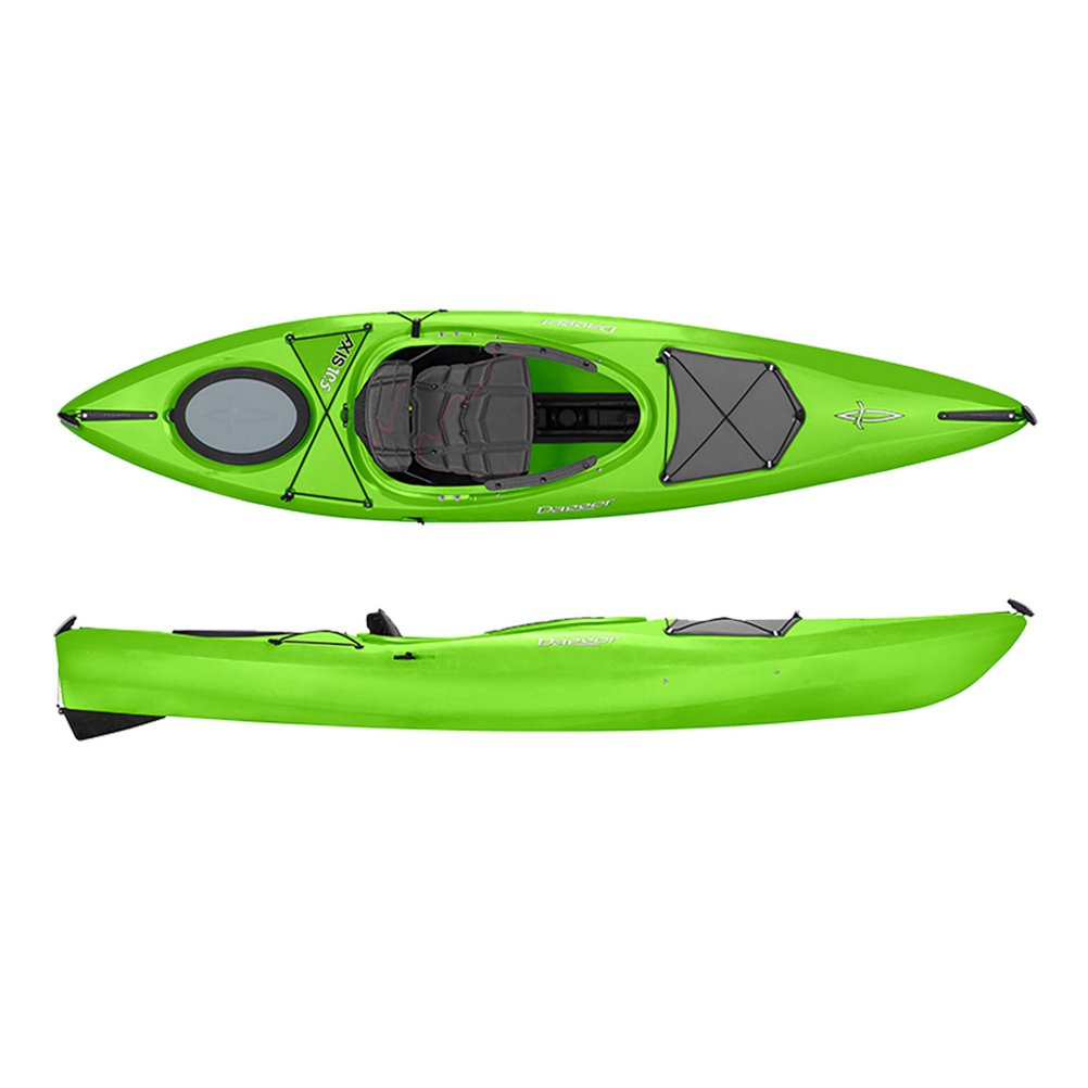 Dagger Axis Adventure Multi-Water Kayak, Lime, 10.5 by Dagger