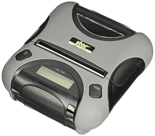 Star Micronics, SM-T300I-DB50, Durable Portable Receipt Printer, 3'', Bluetooth/Serial for iOS/Android/Windows, Tear Bar, Power Supply Incl. by Star Micronics