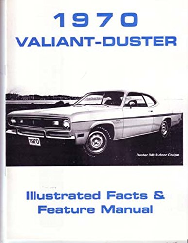 (1970 Plymouth Duster Valiant Facts Features Sales Brochure Literature Features)