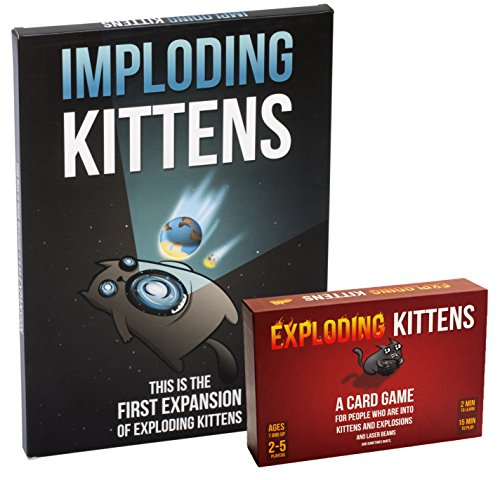 Exploding Kittens Expansion Bundle (Large Image)