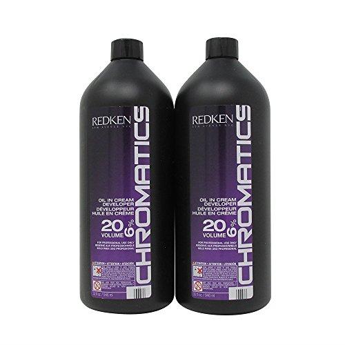 Bundle - 2 Items : Redken Chromatics Oil in Cream Developer, 32 Ounce (Pack of (Chromatic Body)