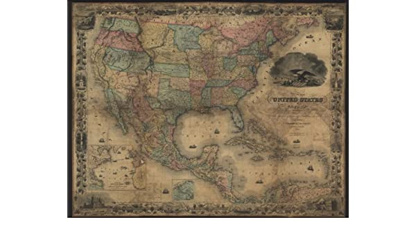 Map of the United States of America, The British Provinces ... Map Of Central America Venezuela on america map panama, america map colorado, america map grenada, america map spain, america map mississippi, america map el salvador, america map uruguay, america map arizona, america map italy, america map brazil, america map jamaica, america map bahamas, america map georgia, america map texas, america map honduras, america map north america, america map philippines, america map canada,