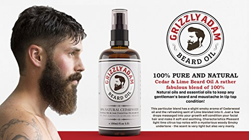 ultimate grizzly adam beard care kit perfect gift set for men beard wash shampoo 200ml. Black Bedroom Furniture Sets. Home Design Ideas