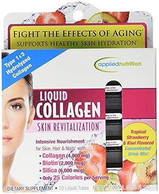 Applied Nutrition Liquid Collagen Skin Revitalization, 10 Count 3.35 Fl Ounce