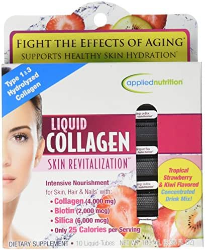 Applied Nutrition Liquid Collagen Skin Revitalization, 10 Count 3.35 Fl Ounce