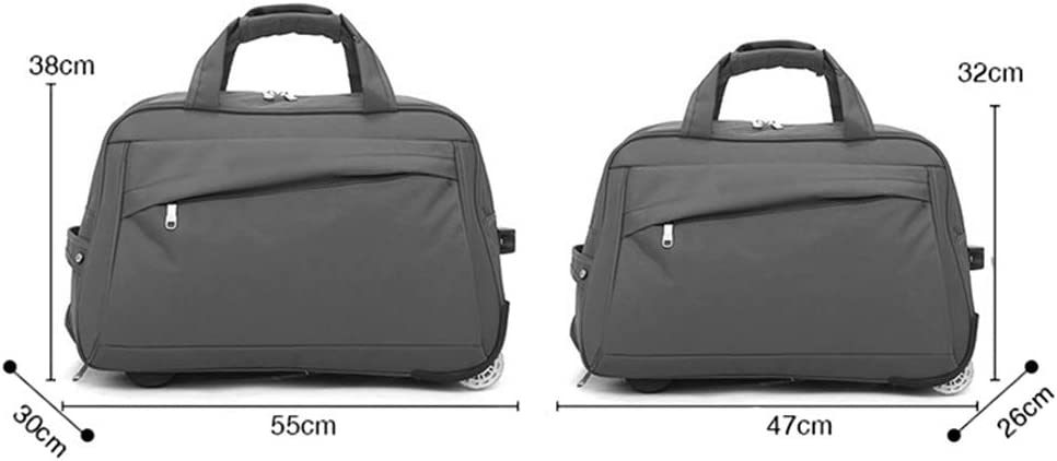 Suitcase Check-in Hold Luggage Travel Trolley Case Trolley Bag Lightweight Expandable Strong Luggage Cabin Bags Baggage Portable Leisure Foldable Travel Bag GAOFENG