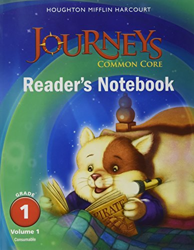 Journeys: Common Core Reader's Notebook Consumable Collection Grade 1