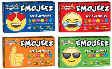 Emoji Gummy Box Variety Pack 4 Boxes