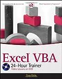 Excel VBA 24-Hour Trainer, Urtis, Tom, 047089069X
