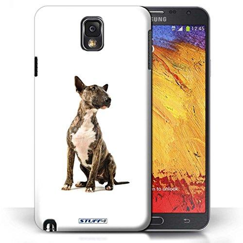 Etui / Coque pour Samsung Galaxy Note 3 / Bull Terrier conception / Collection de Chiens