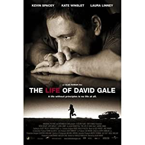 THE LIFE OF DAVID GALE Movie Poster - Flyer - 11 x 17