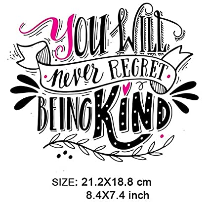 Virtue ONESAID Lovely Plastisol Heat Transfer Stickers for Clothes