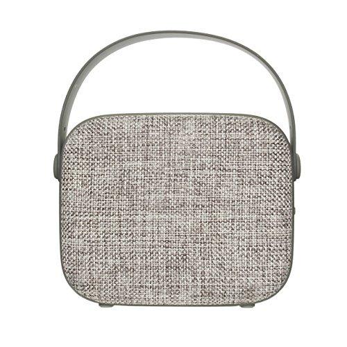 Tech2 Vintage bluetooth speaker Grey