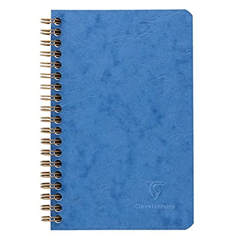 17 x 12 x 0.9 cm Clairefontaine 78616C Quaderno Americano Marrone 3 Tasche
