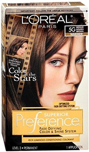 Pref Haircol 5g Size 1ct L'Oreal Preference Hair Color Medium Golden Brown ()