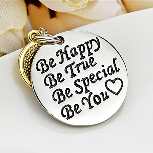YFN-Sterling-Silver-Happy-Face-Inspirational-Letters-Engraved-2-Piece-Charm-Pendant-Necklace