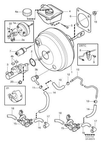 Amazon Com Genuine Volvo 8649287 Brake Vacuum Switch Automotive