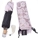 Nicecho UPF 50+ Fashion Lace Umbrella, Pink