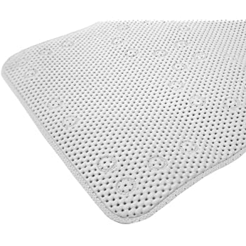 Amazon Com Splash Home Softee Bath Mat 17 By 36 Inch