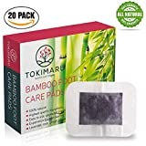 TOKIMARU Premium Foot Pads 20 Pack | Cleanse and Remove Impurities | Improve Sleep and Aid Relaxation | Pain and Stress Relief | Safe, Organic, Natural | Lavender, Rose, Peppermint, Green Tea, Ginger