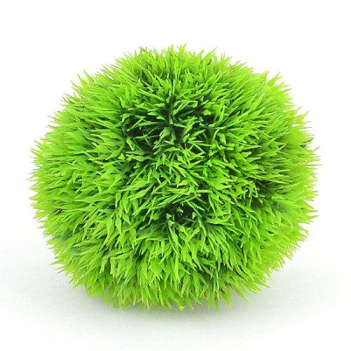 "UPC 700724903167, Uxcell Aquarium Simulated Water Grass Ball Adorn, 3.5"", Green"
