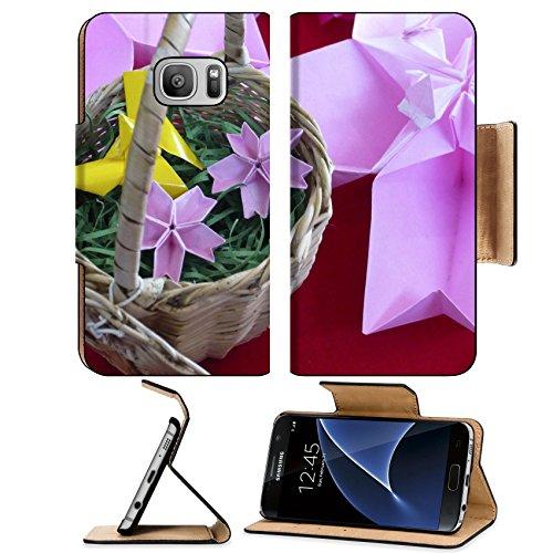 MSD Premium Samsung Galaxy S7 Flip Pu Leather Wallet Case IMAGE 23623306 Origami